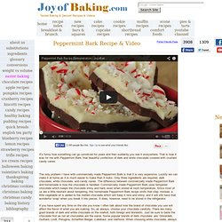 Peppermint Bark Recipe With Picture