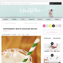 Peppermint White Russian Recipe