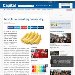 Pepsi, le nouveau king du snacking