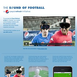Pepsi - The Sound Of Football