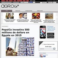 PepsiCo investira 500 millions de dollars en Egypte en 2015