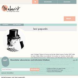 leni pepunkt. bei Makerist - Profil und Werke