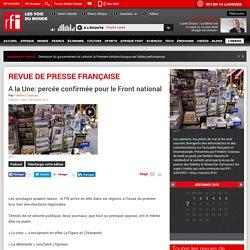 RFI la revue de presse France
