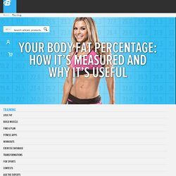 Your Body Fat Percentage: How It's Measured And Why It's Useful