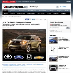 2014 Car Brand Perception Survey