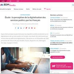 Étude : la perception de la digitalisation des services publics par les Français
