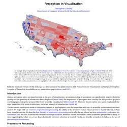 Perception in Visualization