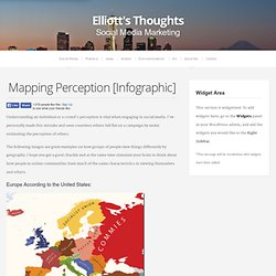 Mapping Perception [Infographic]