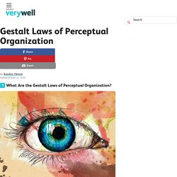 Gestalt Laws of Perceptual Organization