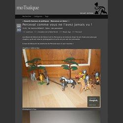 Exemple de production avec Thinglink : Perceval en 5e