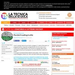 Perché il coding è utile - TecnicadellaScuola