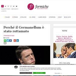 Perché il Germanellum è stato rottamato