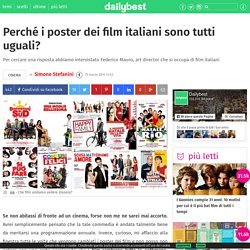 Perché i poster dei film italiani sono tutti uguali?