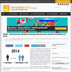 Etude : Comment les acheteurs Français perçoivent le marché immobilier à 6 mois