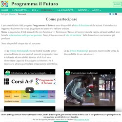 Percorsi - ProgrammaIlFuturo.it