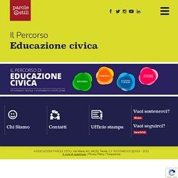 Il percorso di Educazione Civica di Parole O_Stili