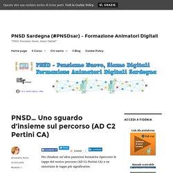 PNSD… Uno sguardo d'insieme sul percorso (AD C2 Pertini CA) – PNSD Sardegna (#PNSDsar) – Formazione Animatori Digitali