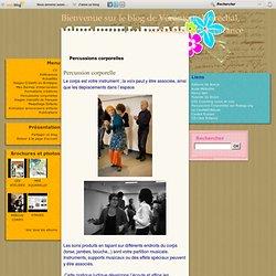 Percussions corporelles - Percussions… - Eveil musical - Percussions… - Le blog de Véronique Maréchal