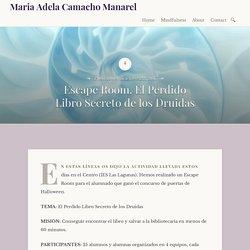 Escape Room. El Perdido Libro Secreto de los Druidas – Maria Adela Camacho Manarel