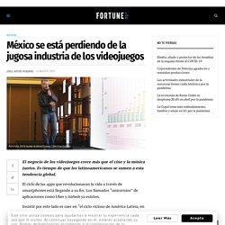 México se está perdiendo de la jugosa industria de los videojuegos