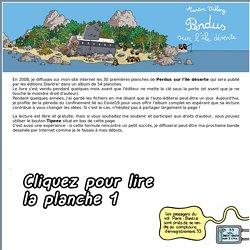 Perdus sur l'île déserte: BD en ligne par Martin Vidberg