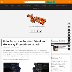 Polo Forest - A perefect weekend get-away from Ahmedabad!