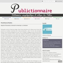 Perelman (Chaïm)