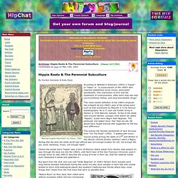 Hippie Roots & The Perennial Subculture - Hippyland