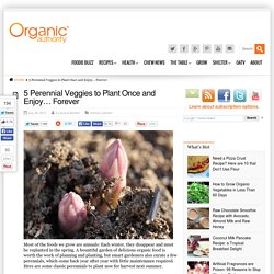 5 Perennial Veggies to Plant Once and Enjoy... Forever