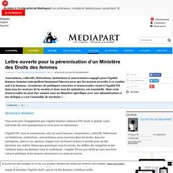 Lettre ouverte pour la pérennisation d'un Ministère des Droits des femmes