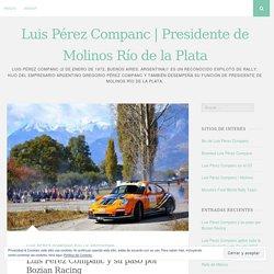 Luis Pérez Companc y su paso por Bozian Racing