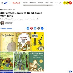 38 Perfect Books To Read Aloud With Kids