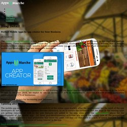 Perfect Mobile Apps by app creator for Your Business