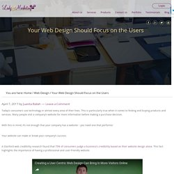 Your Web Design Should Focus on the Users