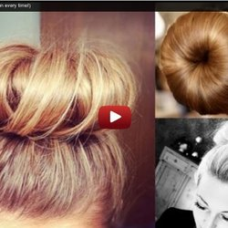 DIY: Sock Bun! (Perfect Donut Bun every time!)
