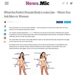 What the Perfect Female Body Looks Like — When You Ask Men vs. Women