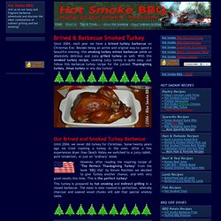 Perfect Turkey Recipe for Turkey Grilling or Smoked Turkey Barbecue