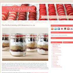 The Perfect Holiday Gift: Brownies in a Jar