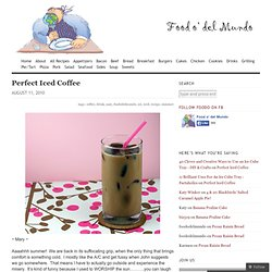 Perfect Iced Coffee & - StumbleUpon