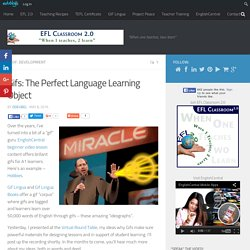 Gifs: The Perfect Language Learning Object