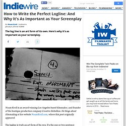 How to Write the Perfect Logline: And Why It's As Importa