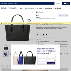 The Perfect Tote: Day Meets Night Meets You - Dagne Dover