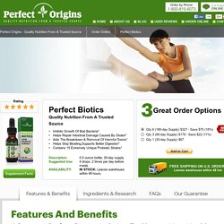Perfect Biotics : The Original Probiotic Super Formula
