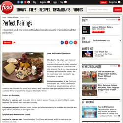 Perfect Pairings : Recipes and Cooking