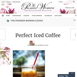 Perfect Iced Coffee | The Pioneer Woman Cooks