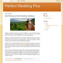 Perfect Wedding Pics: Start Planning your Dream Wedding in Gatlinburg