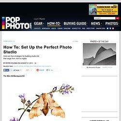 How To: Set Up the Perfect Photo Studio for Any Budget or Room