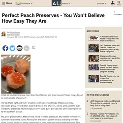 Perfect Peach Preserves - You Won't Believe How Easy They Are