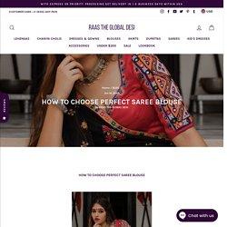 readymade saree blouses – Raas The Global Desi