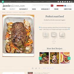 Perfect roast beef | Jamie Oliver Recipes